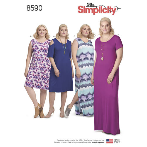 simplicity-knit-dress-pattern-8590-envelope-front
